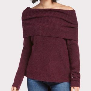 ALLISON JOY | sz S Isadora off shoulder sweater